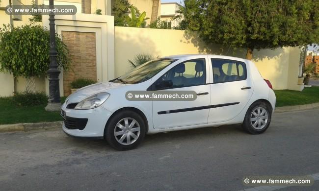 voitures tunisie renault clio iii mahdia clio 3 1. Black Bedroom Furniture Sets. Home Design Ideas
