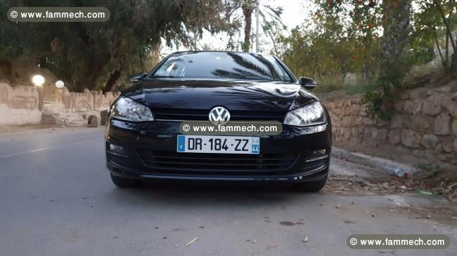 voitures tunisie volkswagen golf vii gabes golf 7 1 2 tsi. Black Bedroom Furniture Sets. Home Design Ideas