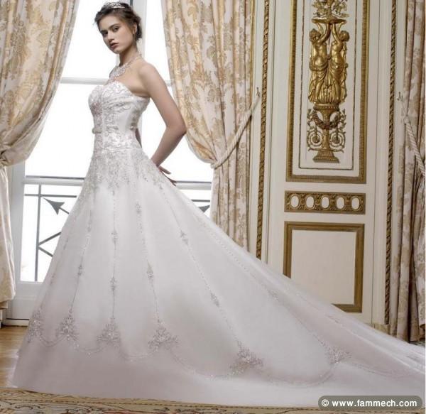 Prix de robe de mariage en tunisie