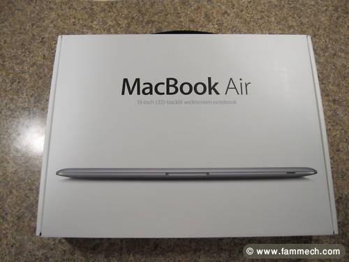 bonne affaire tunisie  ordinateur portable apple macbook air
