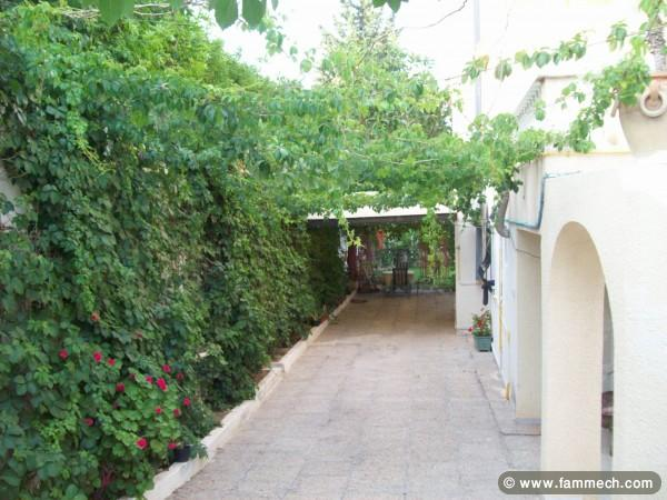 Immobilier tunisie location maison hammam sousse villa for Villa avec jardin tunisie