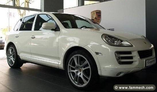 annonce auto tunisie  automobile magnifique porshe cayenne v