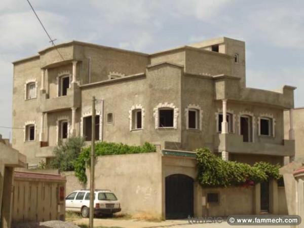 Immobilier tunisie vente maison el mourouj tr s belle villa avec 3 appartements el mourouj - Decoration villa en tunisie ...