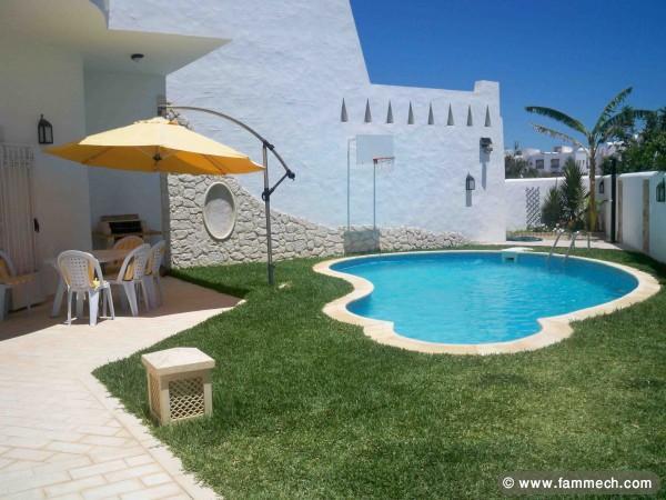 Location maison avec piscine tunisie hammamet for Location pays cathare avec piscine