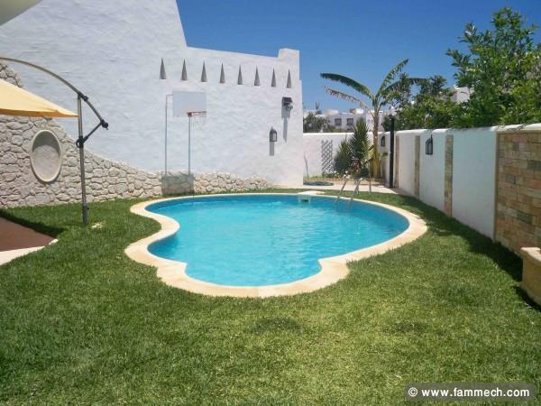 Location maison avec piscine tunisie hammamet - Location villa hammamet avec piscine ...