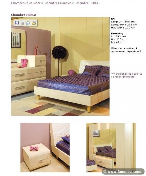 Bonnes affaires tunisie maison meubles d coration for Chambre a coucher jeune