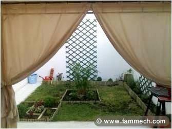 Immobilier Tunisie   Location Maison La Soukra   Duplexe meublé avec ...