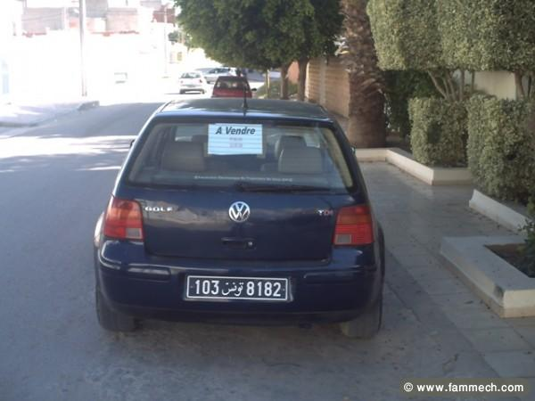 voitures tunisie volkswagen golf iv sousse golf 4 130 0. Black Bedroom Furniture Sets. Home Design Ideas