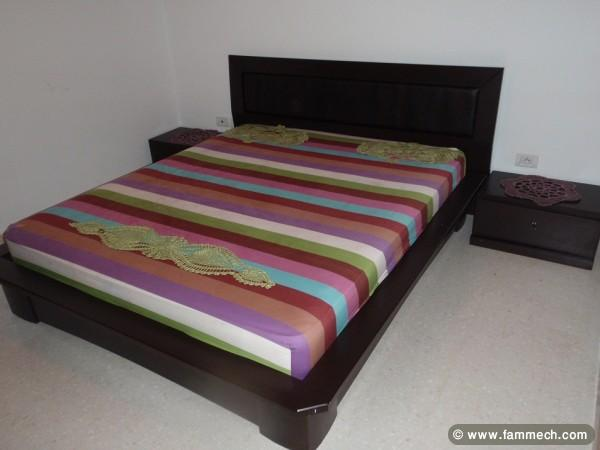 chambre coucher - Lit De Chambre En Bois Tunisie