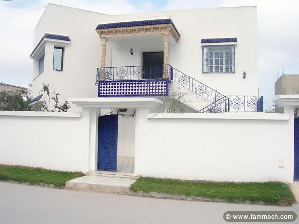 Plan de maison en tunisie cette maison la faade for Achat de maison en tunisie