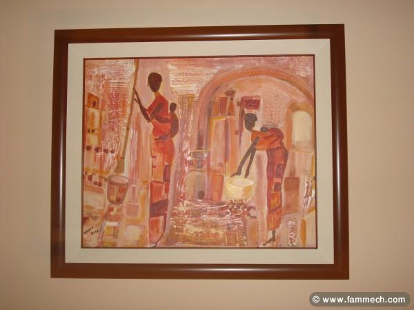 bonnes affaires tunisie maison meubles d coration vente tableau peinture acrylique. Black Bedroom Furniture Sets. Home Design Ideas
