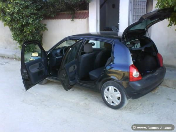 voitures tunisie renault clio ben arous a ne pas rater clio bomb fransaw ya bonne etat 2. Black Bedroom Furniture Sets. Home Design Ideas