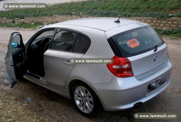 voitures tunisie bmw serie 1 bizerte bmw serie1 118d de couleur grise 143 ch 167 000km. Black Bedroom Furniture Sets. Home Design Ideas