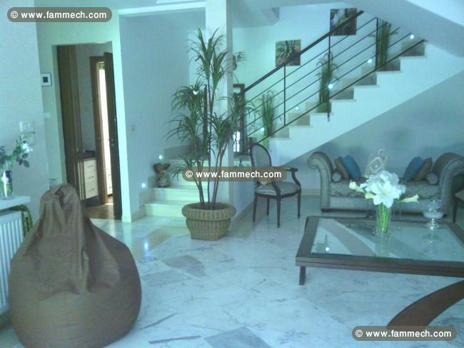 Immobilier tunisie vente maison la soukra duplex haut - Residence de haut standing courchevel baltoro ...