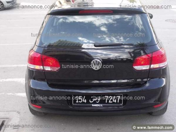 voitures tunisie volkswagen golf vi tunis a vendre. Black Bedroom Furniture Sets. Home Design Ideas