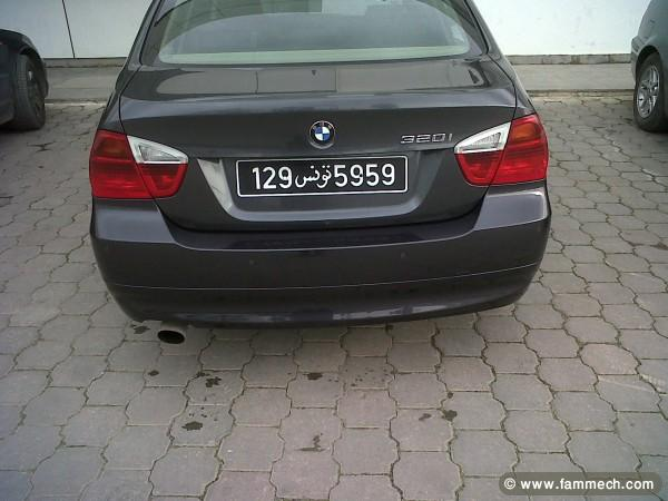 voitures tunisie bmw 320 ariana a vendre voiture 3. Black Bedroom Furniture Sets. Home Design Ideas