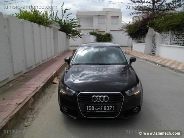 voitures tunisie | audi coupe tunis | audi a1 noir full option tunis