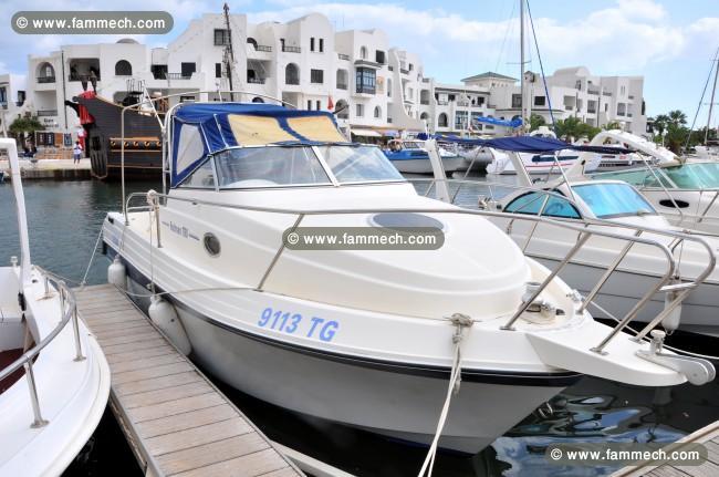 bateau tunisie location