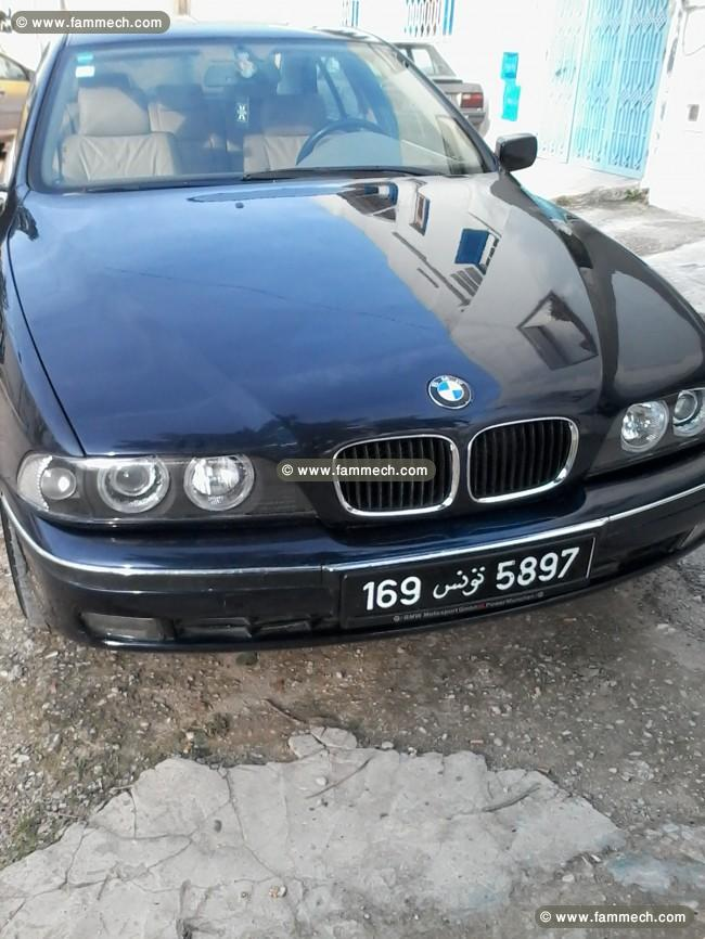 voitures tunisie bmw serie 5 tunis belle bmw e39 excellente occasion. Black Bedroom Furniture Sets. Home Design Ideas