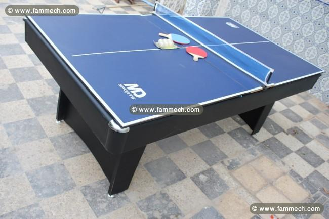 Table de ping pong occasion tunisie table de lit - Table billard transformable occasion ...