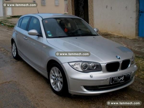 voitures tunisie bmw serie 1 tunis bmw serie 1 118d de couleur grise 143 ch 2. Black Bedroom Furniture Sets. Home Design Ideas
