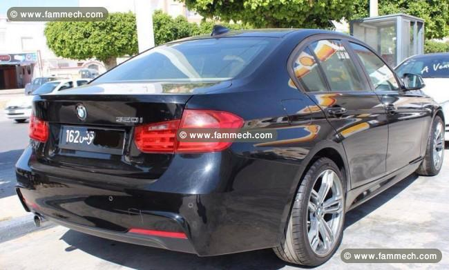 voitures tunisie bmw 320 ariana bmw s rie 320i f30 pack m full option 1. Black Bedroom Furniture Sets. Home Design Ideas