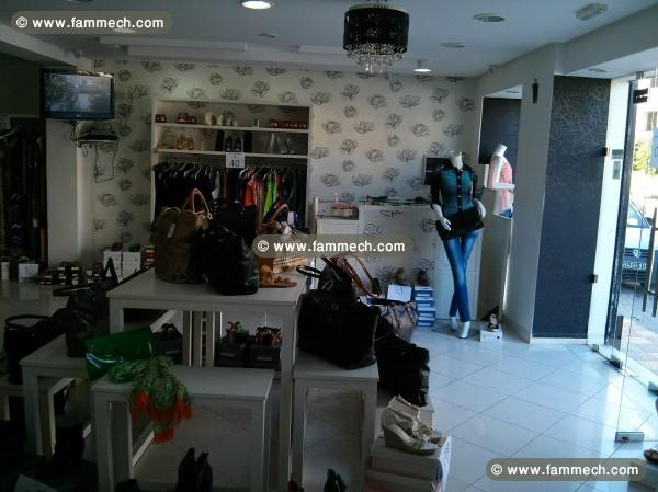 Immobilier tunisie fond de commerce hammam sousse for Boutique pret a porter decoration