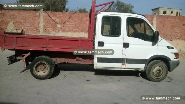voitures tunisie sousse camion iveco 7 places. Black Bedroom Furniture Sets. Home Design Ideas