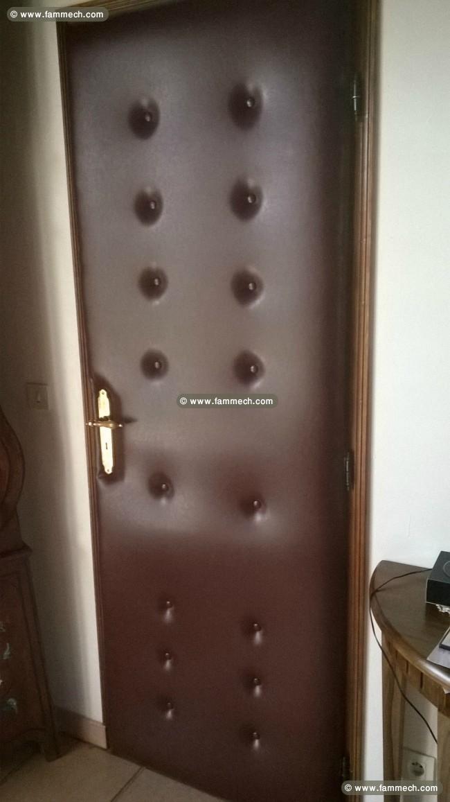 bonnes affaires tunisie maison meubles d coration capitonnage et habillage des portes 2. Black Bedroom Furniture Sets. Home Design Ideas
