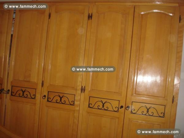 Bonnes affaires tunisie maison meubles d coration for Chambre a coucher en bois rouge