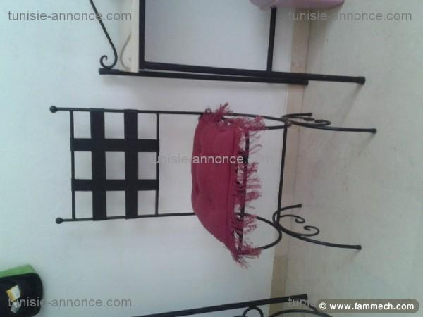 Chambre a coucher fer forg tunisie 082345 for Chambre a coucher moderne en fer forge