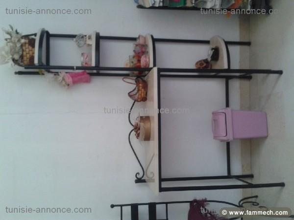 bonnes affaires tunisie maison meubles d coration chambre coucher en fer forg 2. Black Bedroom Furniture Sets. Home Design Ideas