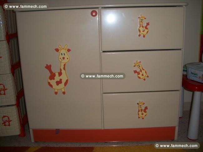 bonnes affaires tunisie maison meubles d coration chambre b b mixte accessoires. Black Bedroom Furniture Sets. Home Design Ideas