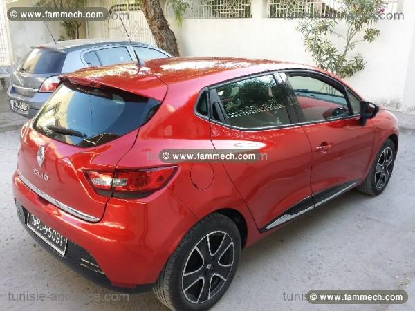 voitures tunisie renault clio tunis clio 4 rouge dinamyque 168. Black Bedroom Furniture Sets. Home Design Ideas
