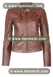 Vente veste cuir femme tunis