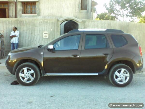 voitures tunisie dacia duster ben arous dacia duster 4 4 diesel toutes options 3. Black Bedroom Furniture Sets. Home Design Ideas