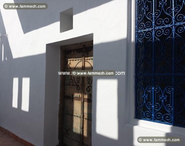 Immobilier tunisie vente maison hammamet duplex for Meuble arabesque tunisie