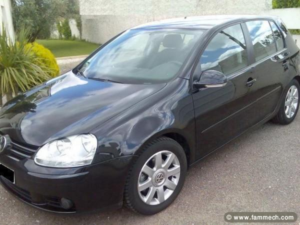 voitures tunisie volkswagen golf sfax golf 5 tdi import e 1. Black Bedroom Furniture Sets. Home Design Ideas