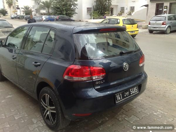 voitures tunisie volkswagen golf vi ariana golf 6 toute option 2. Black Bedroom Furniture Sets. Home Design Ideas