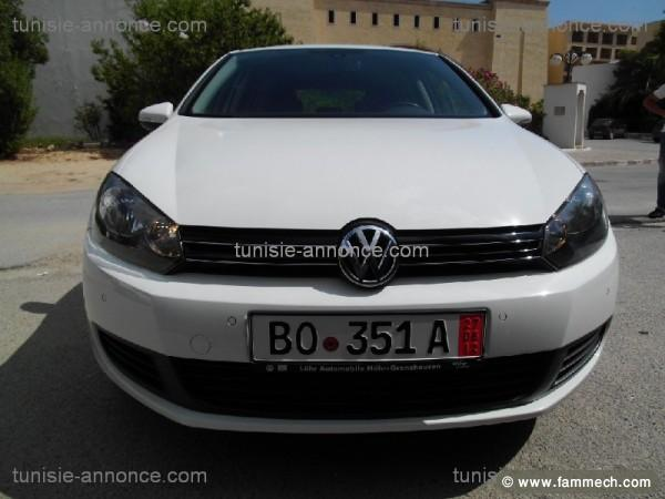 voitures tunisie volkswagen golf tunis golf 6 full option tunis. Black Bedroom Furniture Sets. Home Design Ideas
