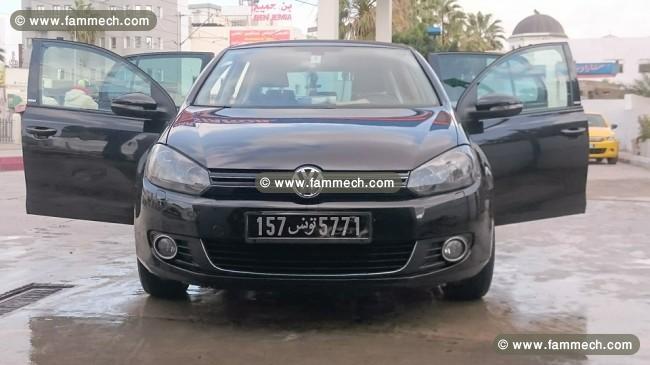 voitures tunisie volkswagen golf vi tunis golf 6 style 1 4 essence 1. Black Bedroom Furniture Sets. Home Design Ideas