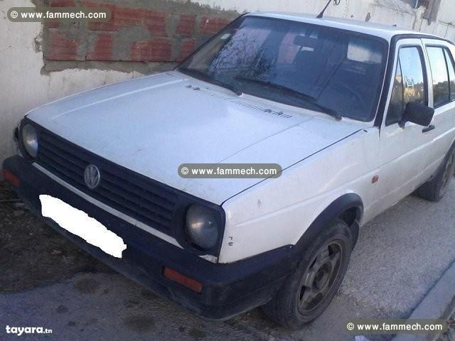 voitures tunisie volkswagen golf mannouba golf ii essence 5cv 2. Black Bedroom Furniture Sets. Home Design Ideas