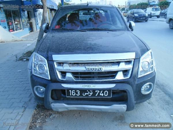 voiture isuzu d max en tunisie. Black Bedroom Furniture Sets. Home Design Ideas