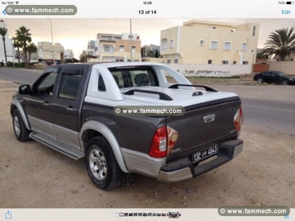 voitures tunisie isuzu d max monastir isuzu dmax 4porte 1. Black Bedroom Furniture Sets. Home Design Ideas
