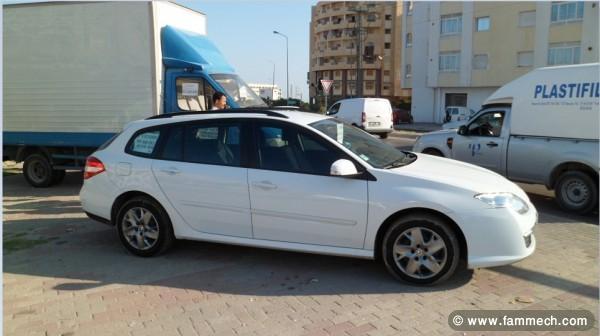 voitures tunisie renault laguna iii estate sousse laguna iii estate 1 5 diesel import e de. Black Bedroom Furniture Sets. Home Design Ideas