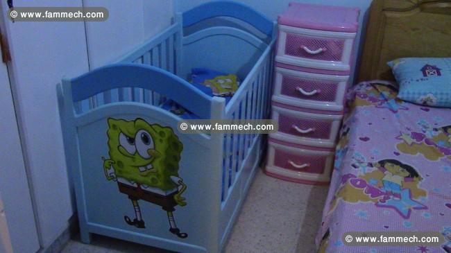 bonnes affaires tunisie maison meubles d coration lit b b avec matelas prix int ressant. Black Bedroom Furniture Sets. Home Design Ideas