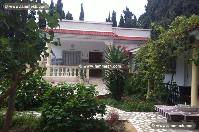 immobilier tunisie location maison ras jebel location d 39 une maison meubl e a sounine. Black Bedroom Furniture Sets. Home Design Ideas