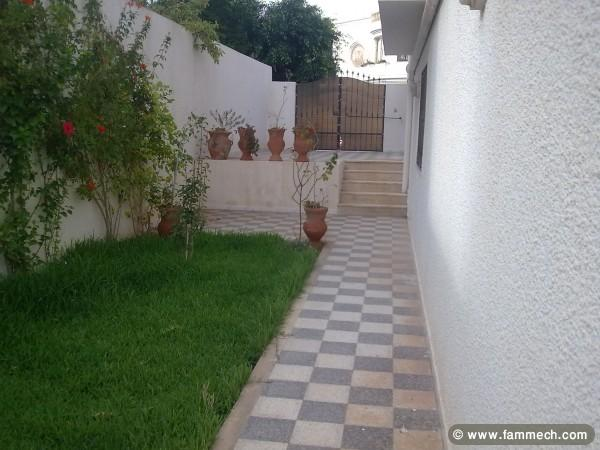 Immobilier tunisie location maison monastir maison a for Decoration jardin tunis