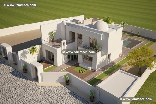 Immobilier tunisie vente maison houmet essouk maison vendre djerba vue mer 2 - Decoration villa en tunisie ...