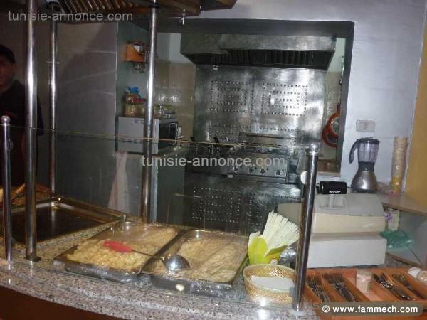 Materiel de restauration d 39 occasion en tunisie for Materiel restauration rapide professionnel